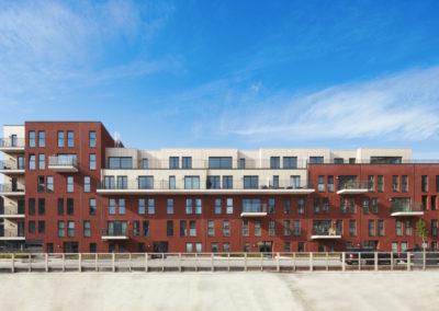 STADSWIJK ZUIDPOORTResidentiële huisvesting Stephenson, ondergrondse parking (fase 2)