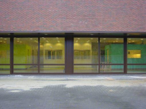 UNIVERSITAIR ZIEKENHUIS BRUSSEL<br><span style='color:#31495a;font-size:12px;'>Uitbreiding kinderpsychiatrie Jette</span>
