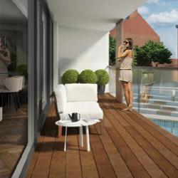 Residentieel appartement stadswijk DijleDelta, Leuven