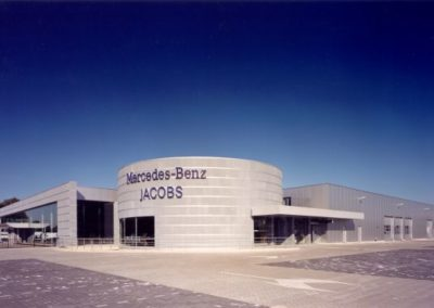 MERCEDES-BENZ JACOBSBedrijfsgebouw, kantoren, interieur Jabobs Autobedrijf N.V.