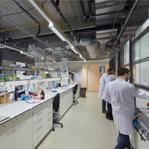 Nieuwbouw laboratorium Aquatische ecologie voor de KULeuven
