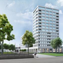 Nieuwbouw kantoren, retail en residentiële huisvesting Kievit fase 2B