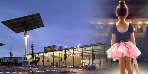 Arenberg schouwburg Antwerpen en Retailpark Wilrijk