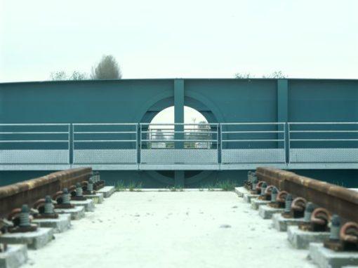 SPOORWEGBRUG PLASSENDALE<br><span style='color:#31495a;font-size:12px;'>Spoorwegbrug </span>