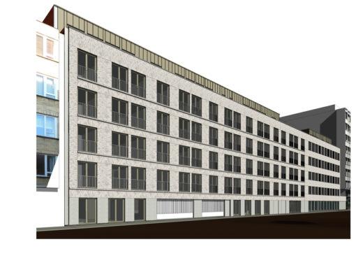 CORES CRELAN<br><span style='color:#31495a;font-size:12px;'>Residentiële huisvesting Van Schoonbekestraat (blok C&D), ondergrondse parking</span>