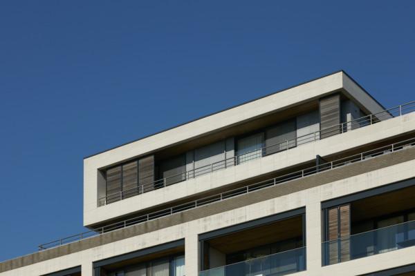 Appartementen, penthouses, ondergrondse parking (fase 1), Stadswijk Zuidpoort, Mechelen