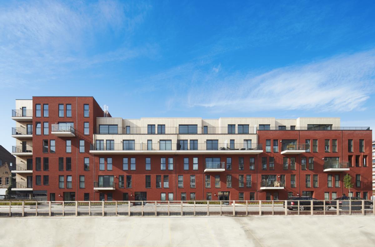 Residentiële appartementen Stephenson, Mechelen