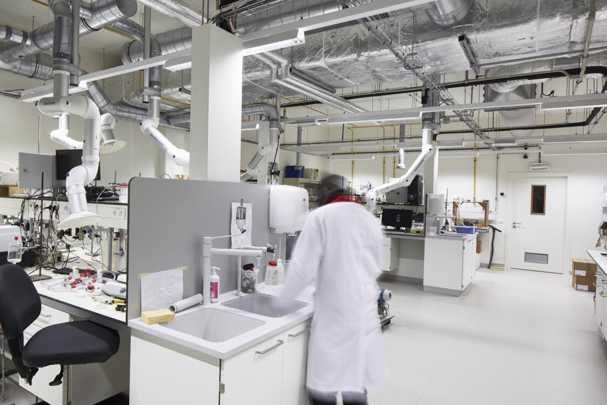 Labo's industriële scheikunde Chem&Tech Leuven, KUL