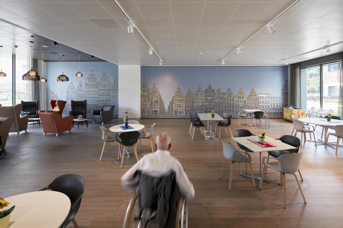 Cafetaria Woon- en Zorg-Campus Hof Ter Schelde, Antwerpen Linkeroever