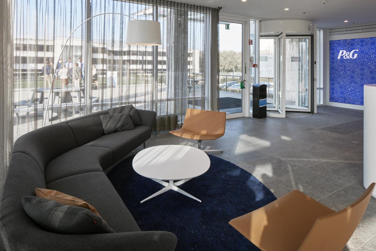Wachtruimte Building Procter & Gamble, Brussel