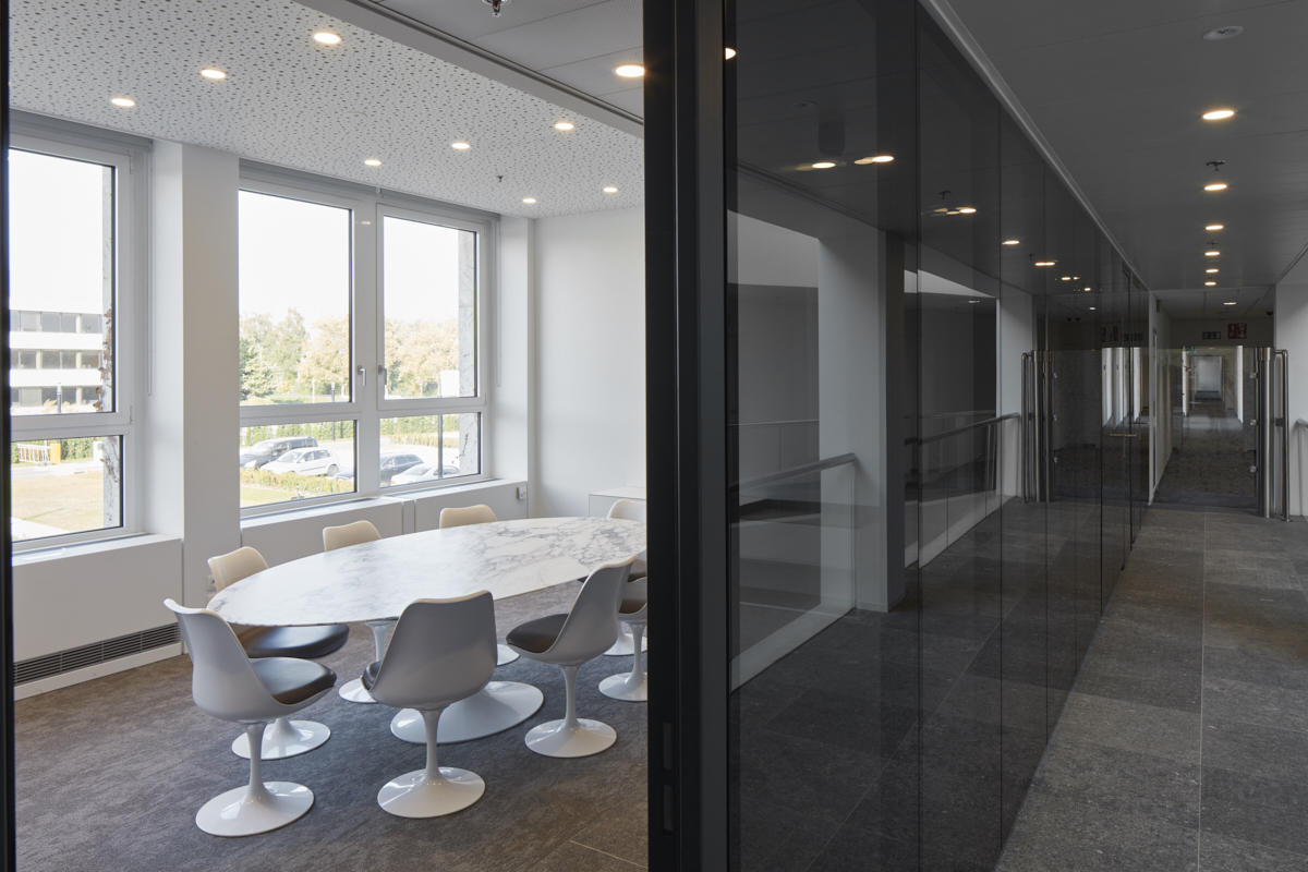 Bureel N&P Building Procter & Gamble, Brussel