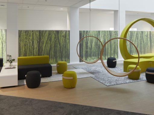 PROCTER & GAMBLE BRUSSEL<br><span style='color:#31495a;font-size:12px;'>N&P kantoorgebouw, receptie en consumerlounge Brussels Innovation Center (BIC)</span>