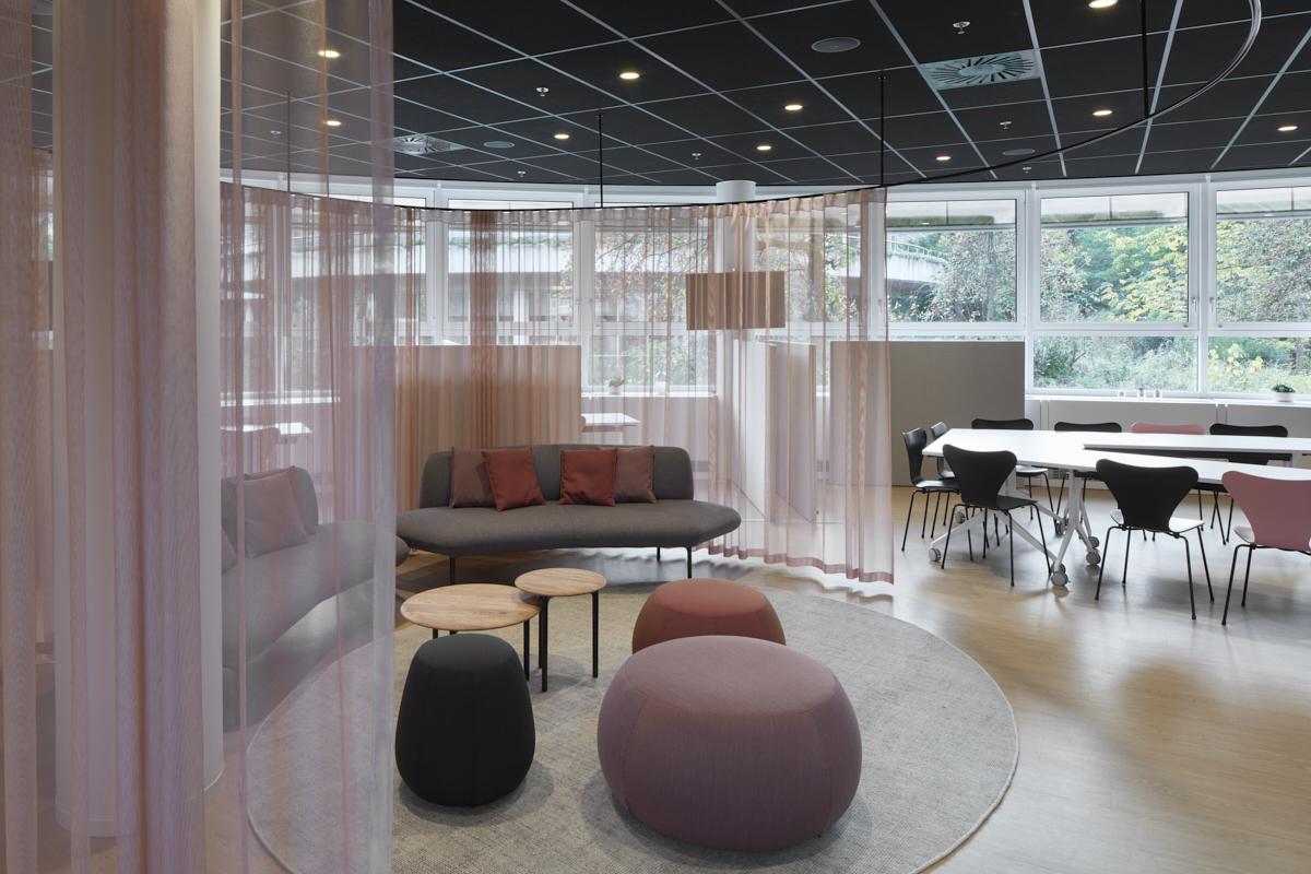 Ontvangstruimte N&P Building Procter & Gamble, Brussel