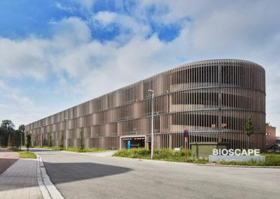 BIOSCAPE – PARKEERGEBOUWParkeergebouw bij project Bioscape (Life Science Incubator)