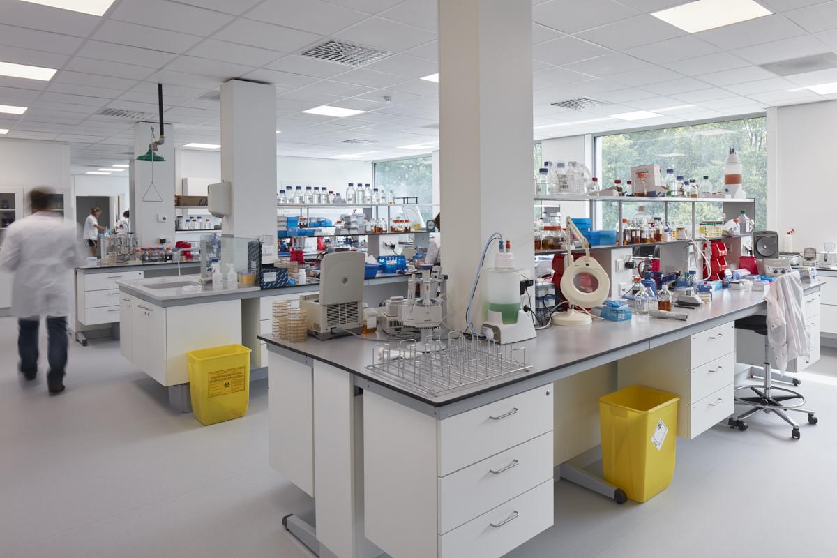 Laboratoria Bioscape, Life  Science park Bioscape. Labo in werking.
