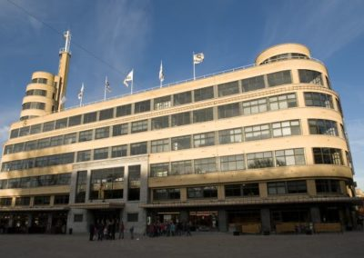 FLAGEY N.V.Omroepgebouw