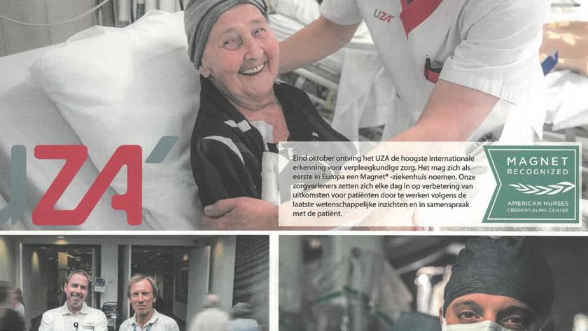 Koningin Mathilde Moeder- en Kind CentrumAdrem krantje UZA
