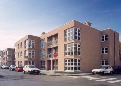 WOONHAVEN ANTWERPEN CVBAAppartementen sociale huisvesting Bosschaertstraat, Hendriklei, A. De Cockstraat, Van Craesbeeckstraat
