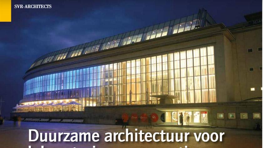 Duurzame architectuur voor laboratoria en renovaties.
