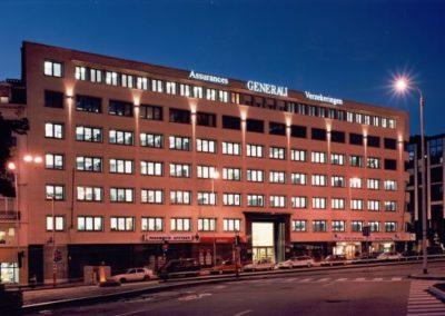 GENERALI VERZEKERINGENKantoren en parking Keizerinlaan, kantoren Ravensteinstraat
