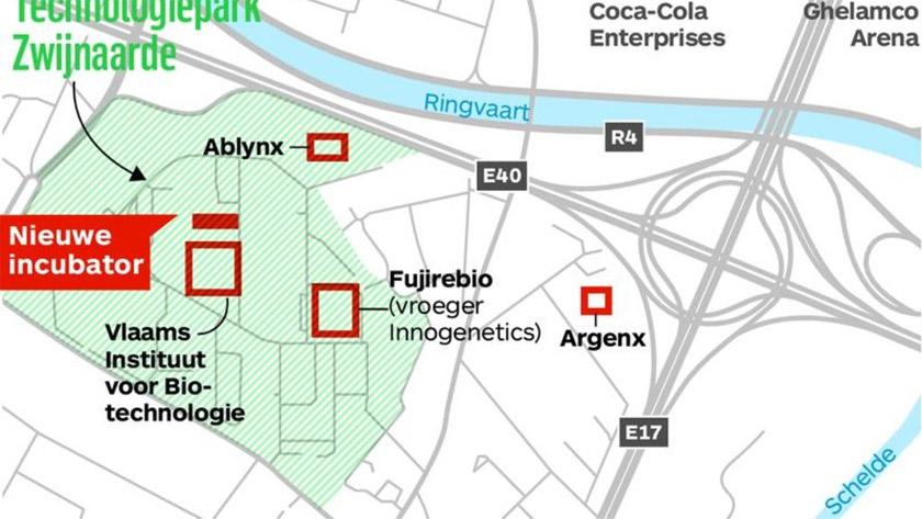 Gent krijgt extra incubator voor Biotechbedrijven *