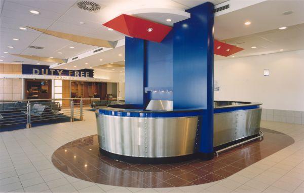 Carferry terninal met kantoren, Oostende