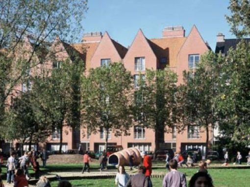 WOONHAVEN ANTWERPEN CVBA<br><span style='color:#31495a;font-size:12px;'>Appartementen sociale huisvesting Scheldestraat, Waalse Kaai, Timmerwerfstraat </span>