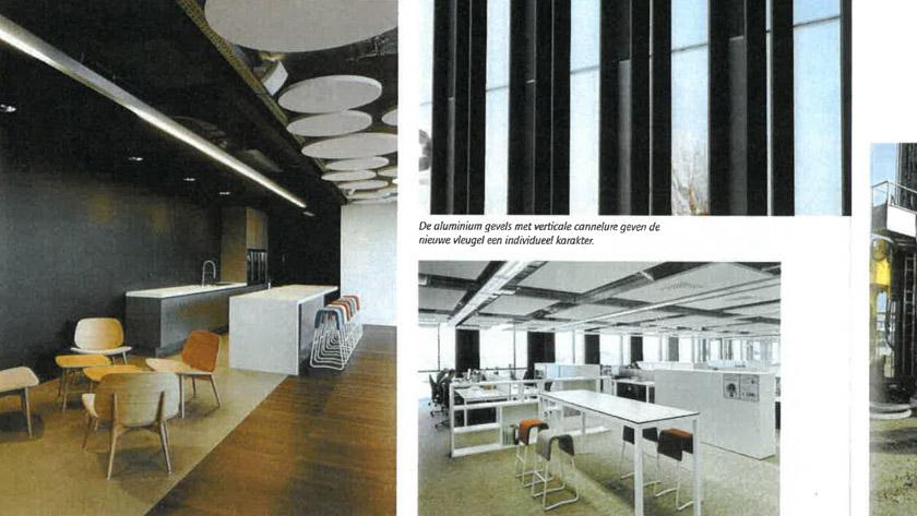 Hoogtechnologisch gebouw voor toptechnologisch bedrijf