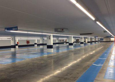 APCOAOndergrondse parking Grote Markt Vilvoorde