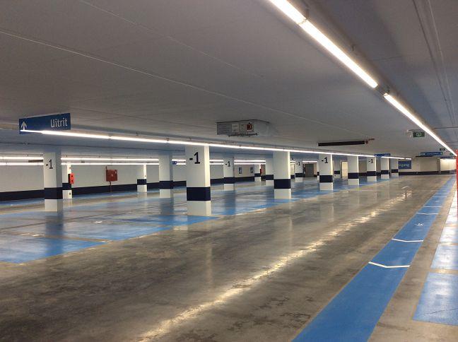 Ondergrondse parking Grote Markt VilvoordeOfficiële opening
