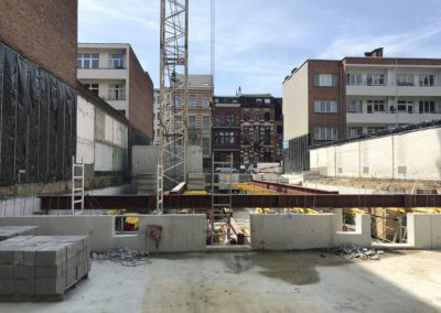 CORES CRELANResidentiële huisvesting Harmoniestraat (blok F&G)