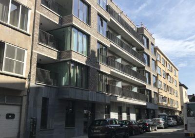CORES CRELANResidentiële huisvesting P. Benoitstraat (blok E)