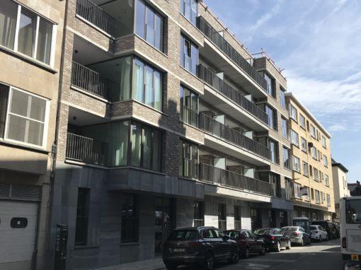 CORES CRELAN<br><span style='color:#31495a;font-size:12px;'>Residentiële huisvesting P. Benoitstraat (blok E)</span>
