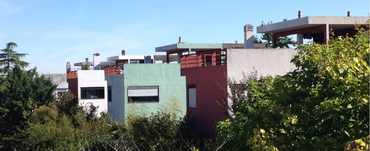 Space and light and order-Cité Frugès-Le Corbusier - Martine Gysen