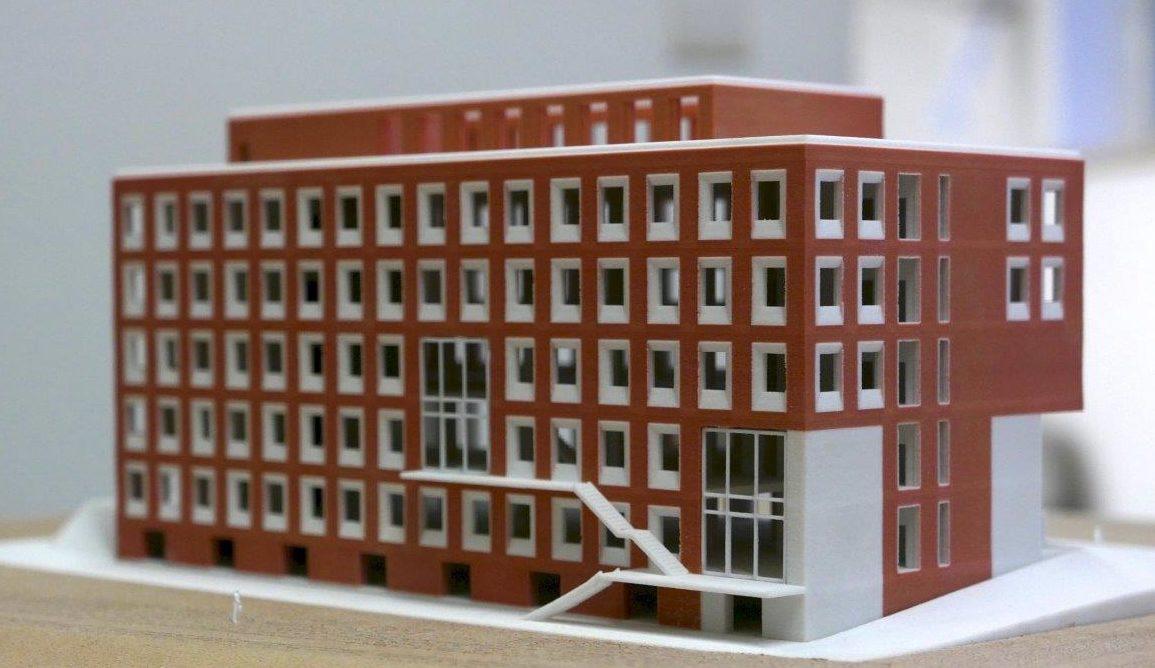 Maquette Onderzoeksgebouw Capture UGent