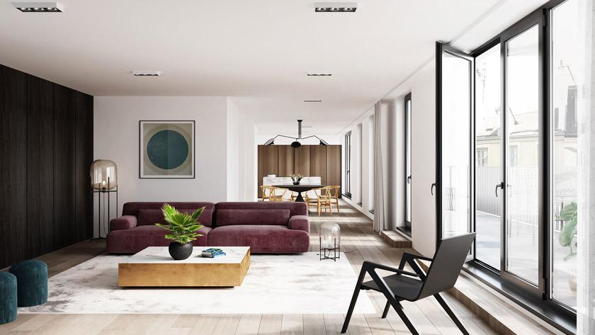 New residential development in Peter Benoitstraat in Antwerp