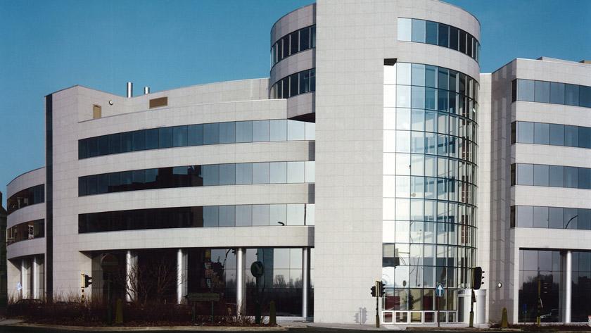 AXA, een gebouw uit één stuk
