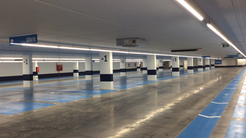 Ondergrondse parking | Vilvoorde
