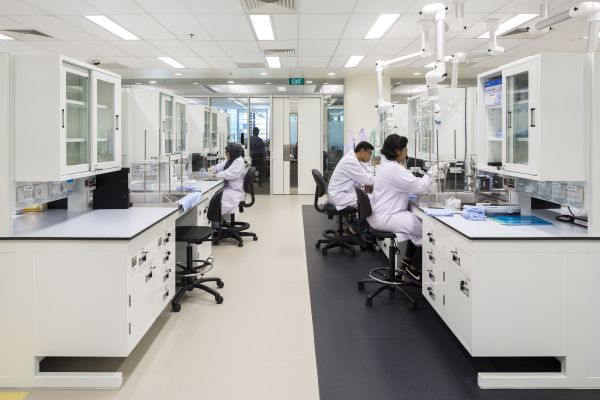 Labo's Singapore Innovation Center (SIC) voor Procter & Gamble