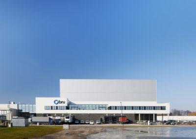 BRU TEXTILESAutomatisch magazijn, designstudio, kantoren, labo's (fase 4)