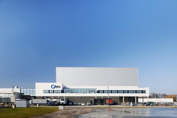Automatisch magazijn, designstudio, kantoren, labo's (fase 4) Bru Textiles, Kontich