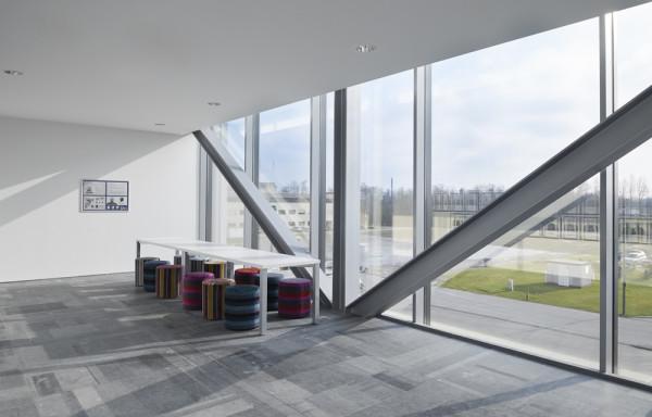 Vergaderzaal voor klanten en personeel Bru Textiles, Kontich