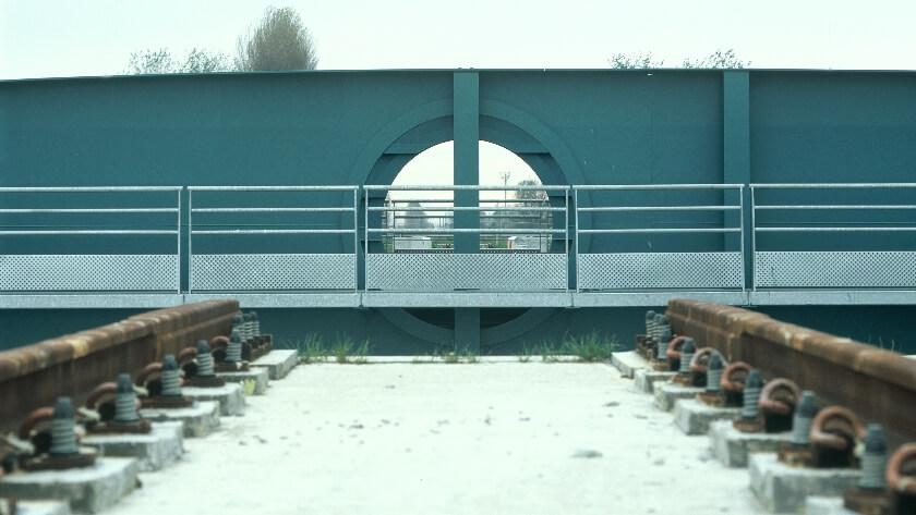 Railway bridge Plassendale | Oostende