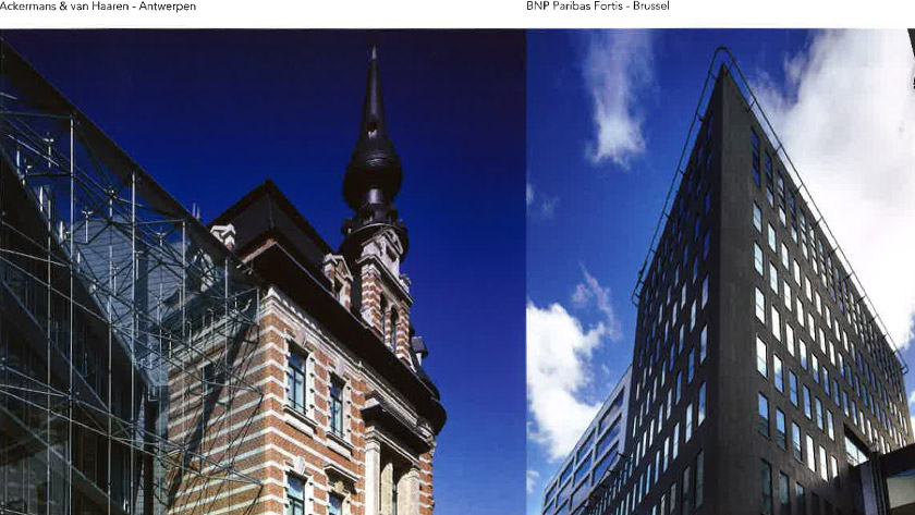 Sterke structuur bezorgt SVR-ARCHITECTS wereldwijde afzetmarkt.