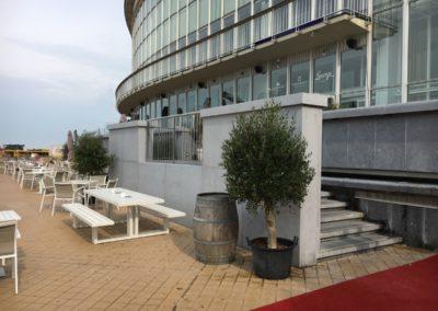 CASINO KURSAALRenovatie bestaande sokkel / Nieuwe trap Westgevel