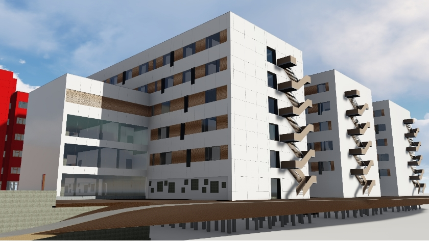 UZA uitbreiding ziekenhuis | Edegem