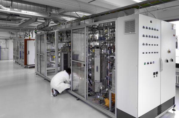 Gebouw Industriële Scheikunde, kantoren, labo's en leslokalen voor de Universiteit van Gent