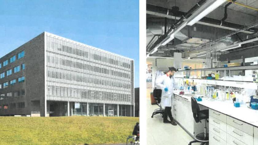 Wetenschappelijke architectuur in volle glorieBouwen aan Vlaanderen  jaarboek 2016