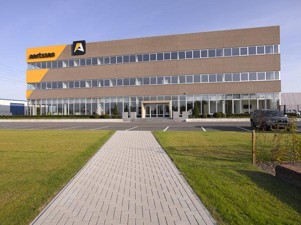 Nieuwe hoofdzetel bouwbedrijf Aertssen