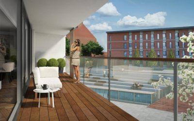 Nieuwe wooncomplexen in Leuven